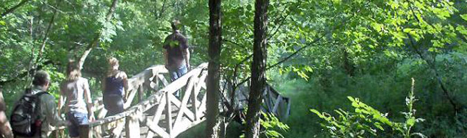 Hiking in Whitewater State Park
